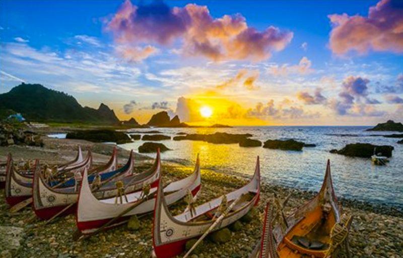 台灣最美第一道曙光-蘭嶼
