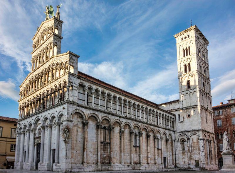 chiesa di san michele a Lucca