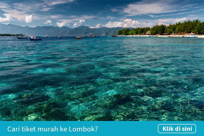 Klik untuk cari tiket pesawat murah ke Lombok