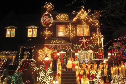 luces de navidad en brooklyn