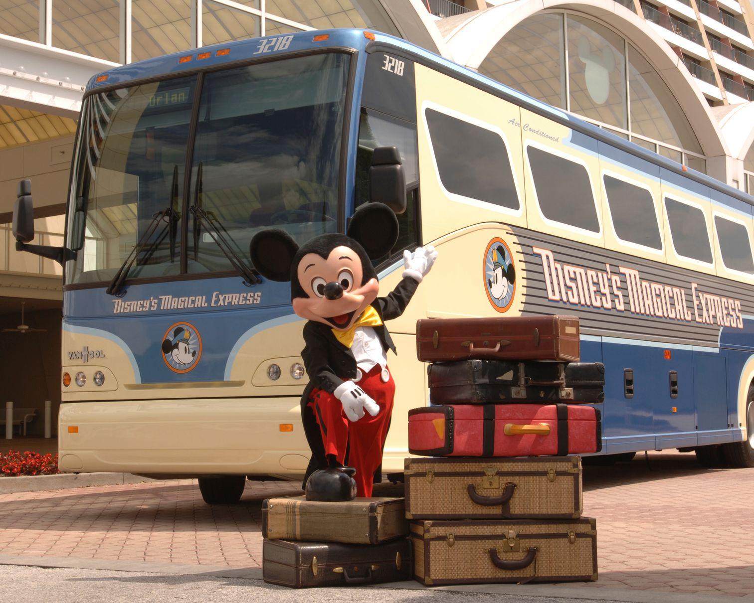 Walt Disney World Orlando transportación autobús