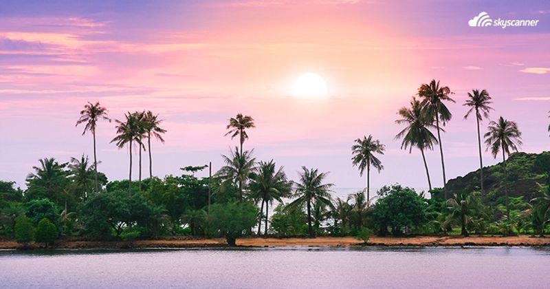 พระอาทิตย์ขึ้นที่เกาะช้าง ตราด