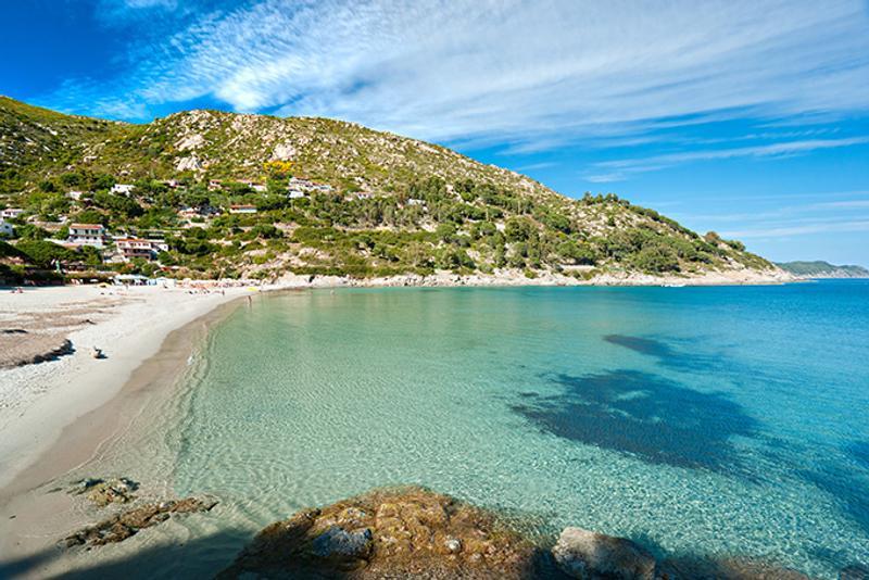 Итальянские пляжи: Пляж Фетовайя (Fetovaia)