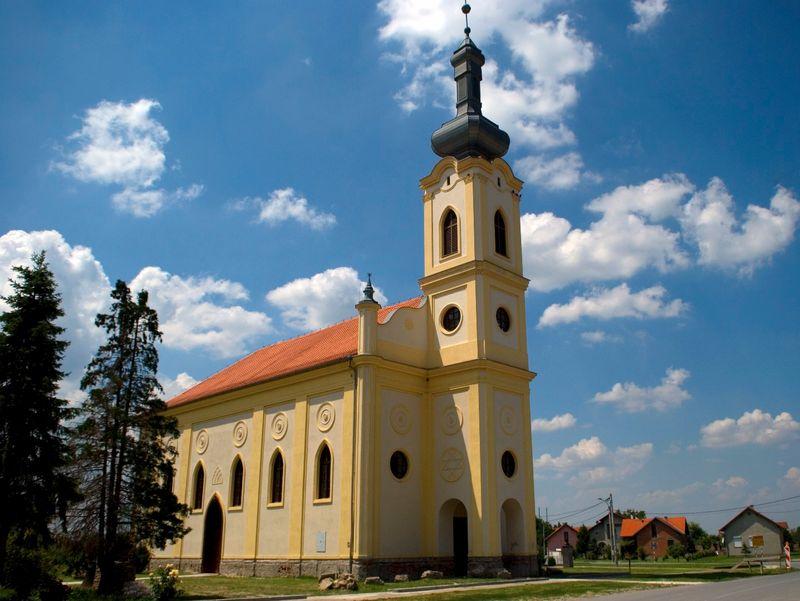 Veduta di Osijek, Croazia