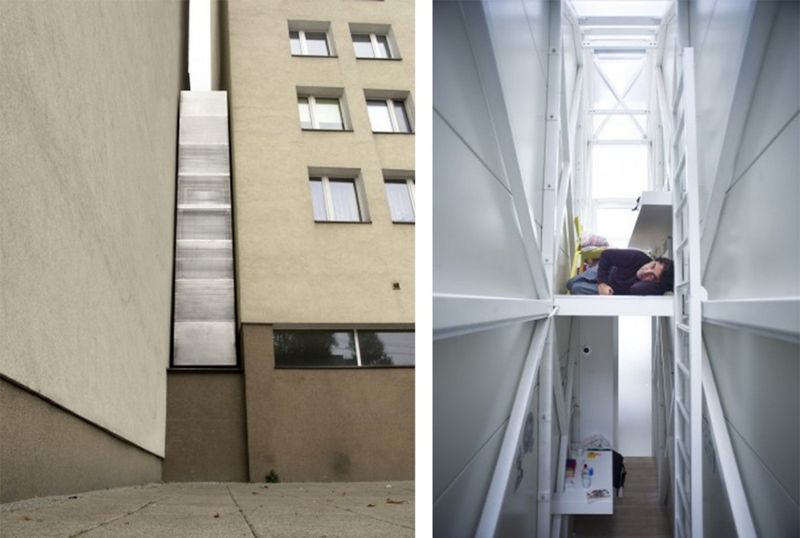 one of the smallest houses in the world is located in warsaw poland and is the - Smallest House In The World Minecraft