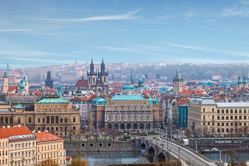 Historic Center of Prague, the Heart of Europe