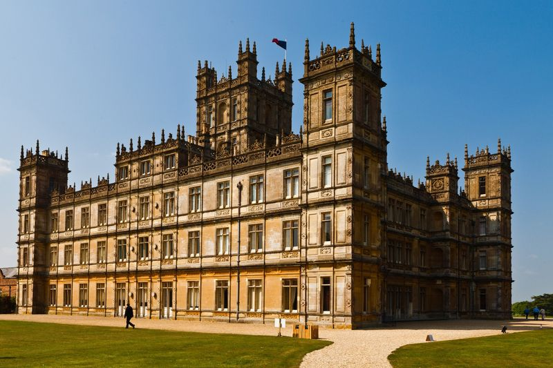 Highclere Castle, Hampshire, England