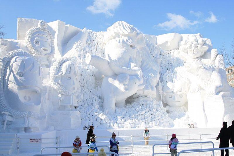 เที่ยวญี่ปุ่น เทศกาลหิมะ