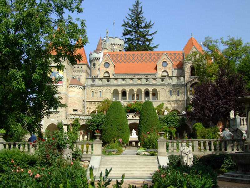 Город Секешфехервар в Венгрии