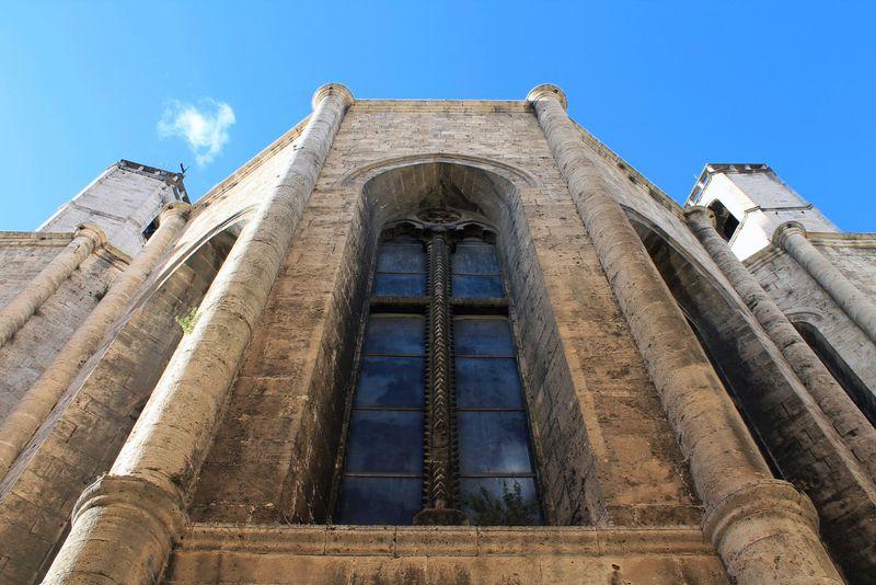 Ascoli Piceno, particolare di un edificio storico
