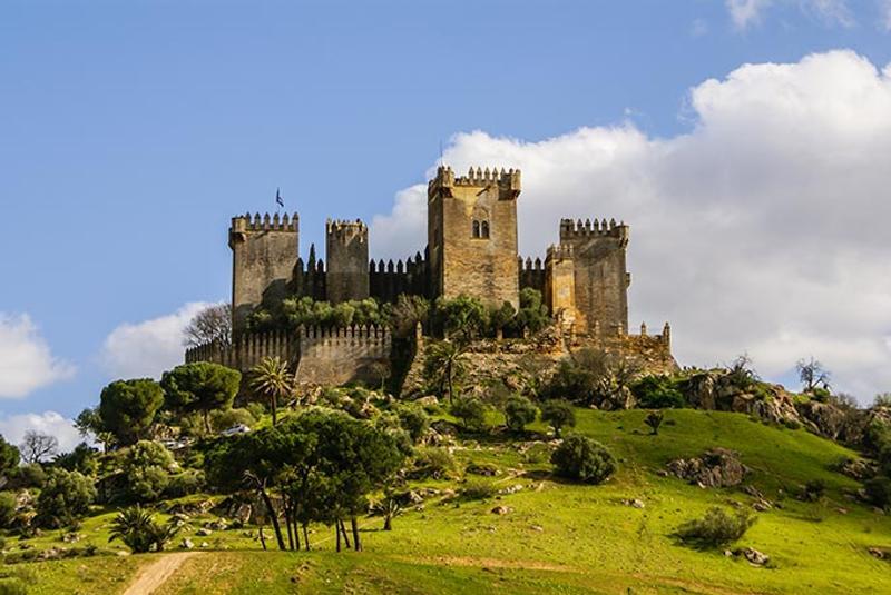 Castillos y Fortalezas de España Almodovar-del-rio-castle-cordoba-spain-andalusia