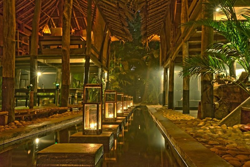 Check out the relaxed, atmospheric vibe at Ku Goa