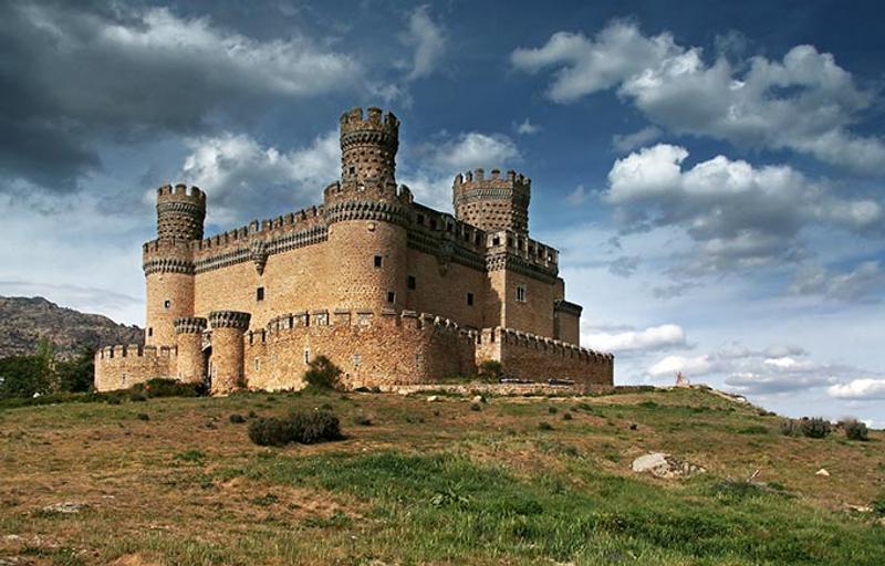 Castillos y Fortalezas de España Manzanares-el-real-castle-madrid-spain