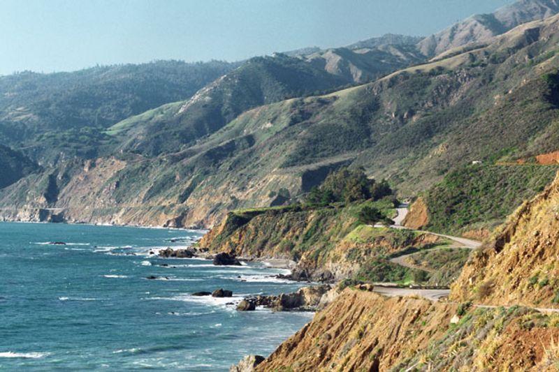 Kalifornien: Pacific Coast Highway