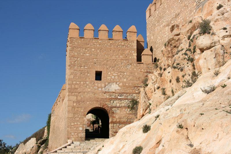 The Alcazaba, Almeria, Spain