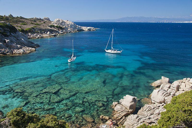 Итальянские пляжи: Бухта Спиноса (Cala Spinosa)