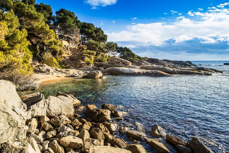 Roques Planes, Calonge, Girona