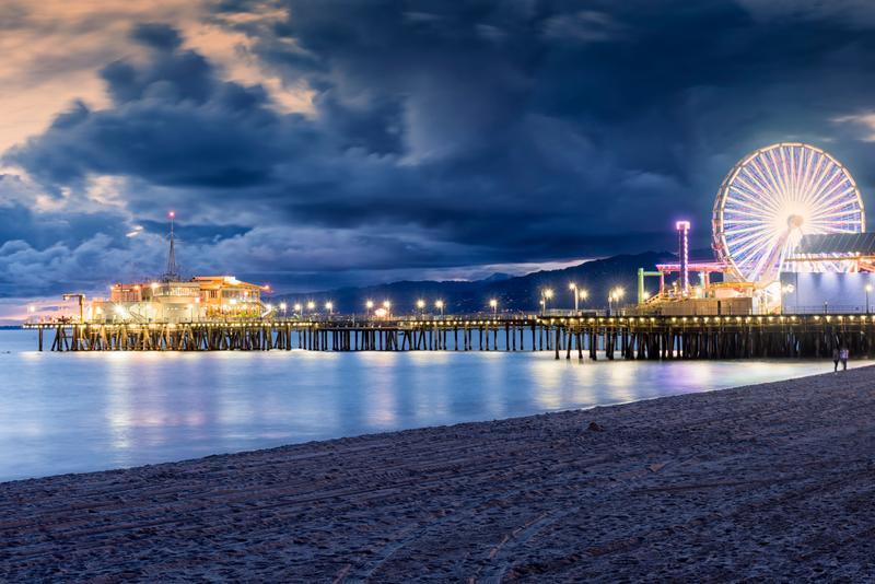 Qué hacer Los Angeles: Muelle de Santa Mónica