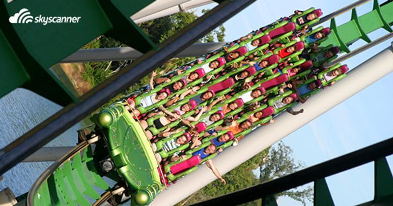 สวนสนุกดิสนีย์แลนด์ (Disneyland) ออร์ลันโด (Orlando) รัฐฟลอริดา (Florida)