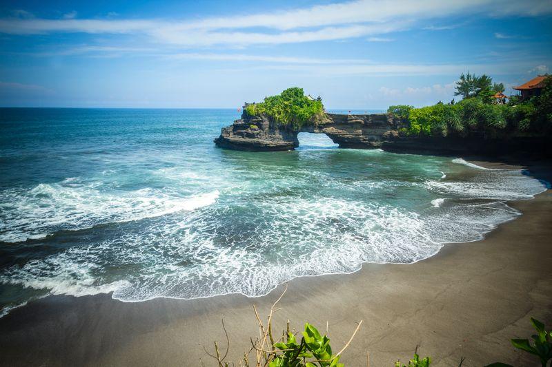 Tanah Lot Temple, Bali, island, Indonesia