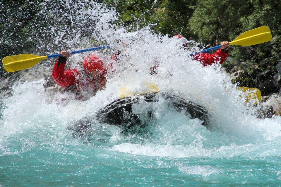 Сплав на рафте по реке Даламан в Турции