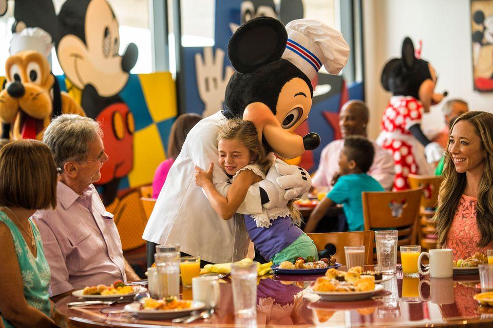 Comer en restaurantes de Walt Disney World Orlando