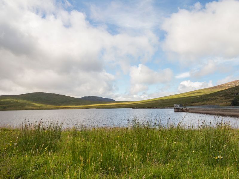 embalse de spelga en corbet irlanda del norte