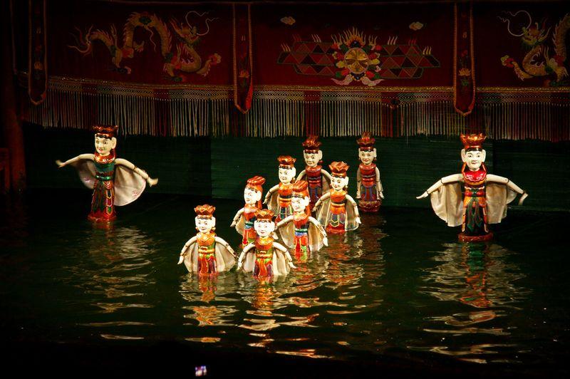 Вьетнамский кукольный театр на воде
