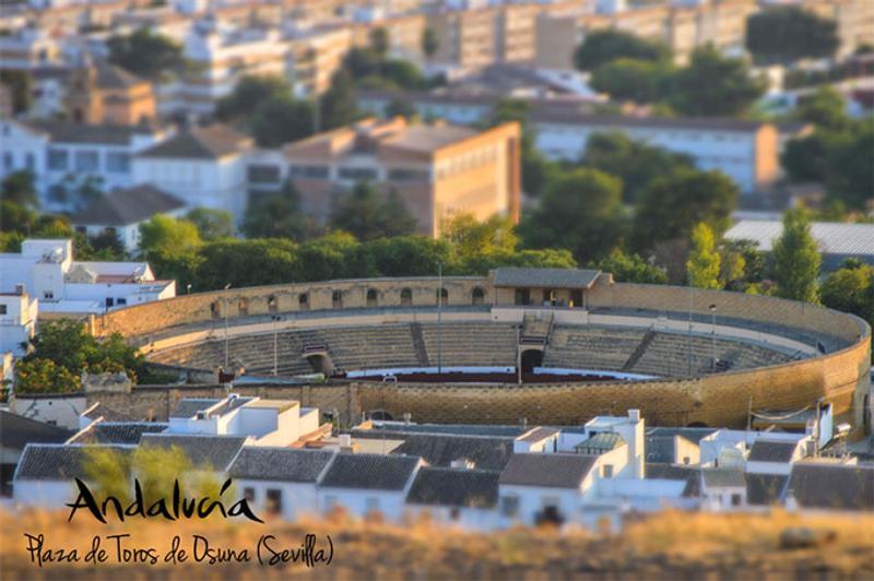 La plaza de toros de Osuna, escenario de uno de los mayores eventos © Andalucia.org