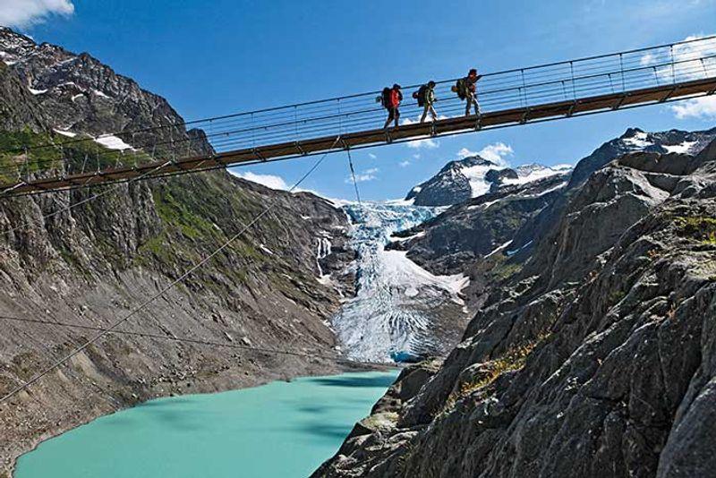 Triftbrücke in der Schweiz