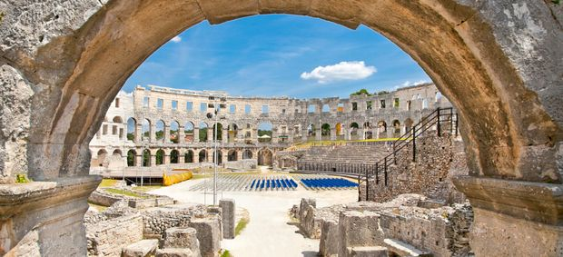 Top 15 attractions and things to do in Pula and Rovinj