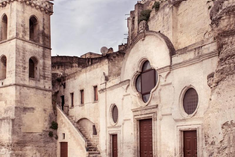 facciata san pietro barisano a Matera