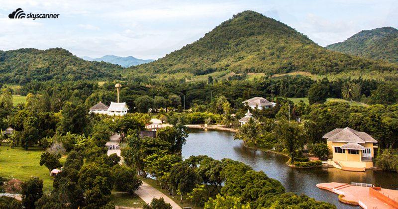 วิวภูเขาที่สวนผึ้ง ราชบุรี