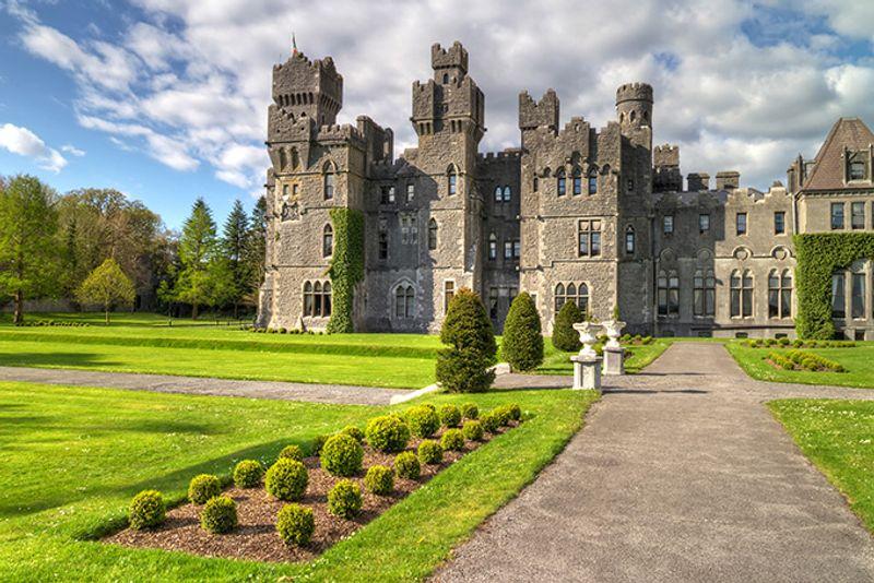 Замок Эшфорд в Ирландии