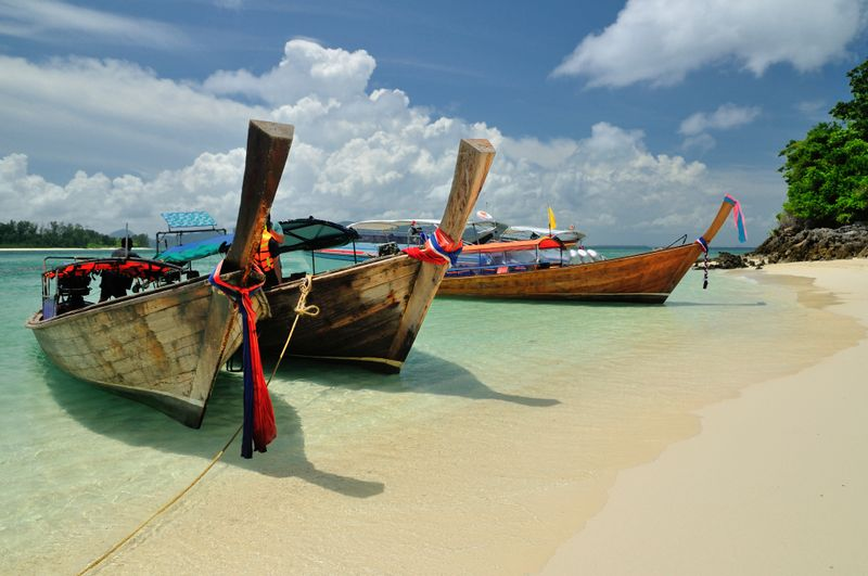 Thailand is a paradise for backpackers