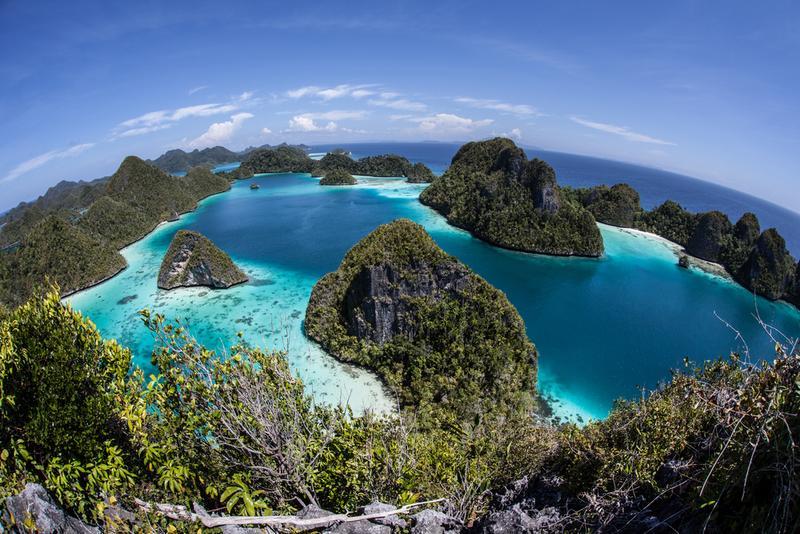 Wayag, Raja Ampat, Papua Barat, Indonesia
