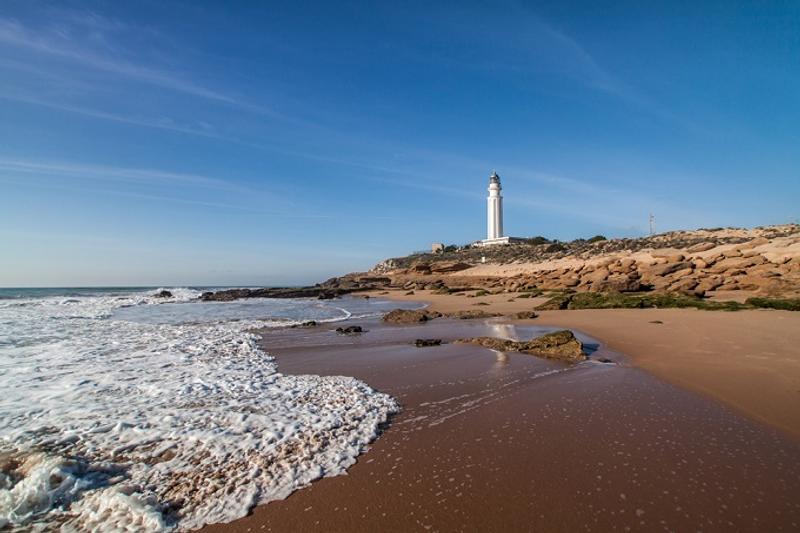 Cabo de trafalgar playa andalucía cadiz españa