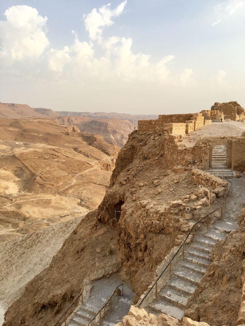 ciudadela de masada, israel