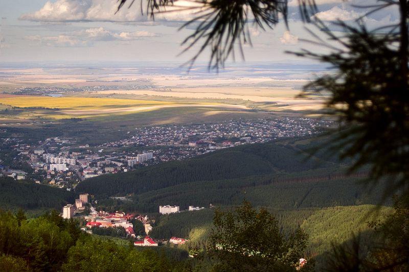 горный курорт Белокуриха на Алтае