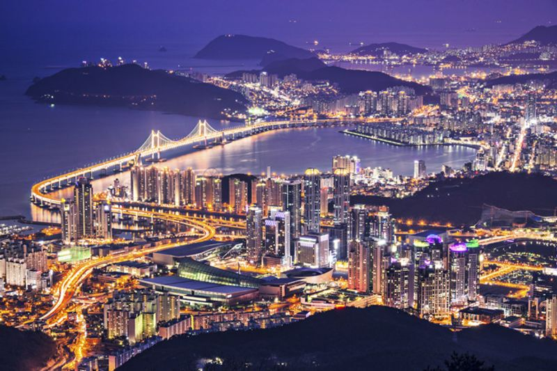 Город Пусан, Южная Корея