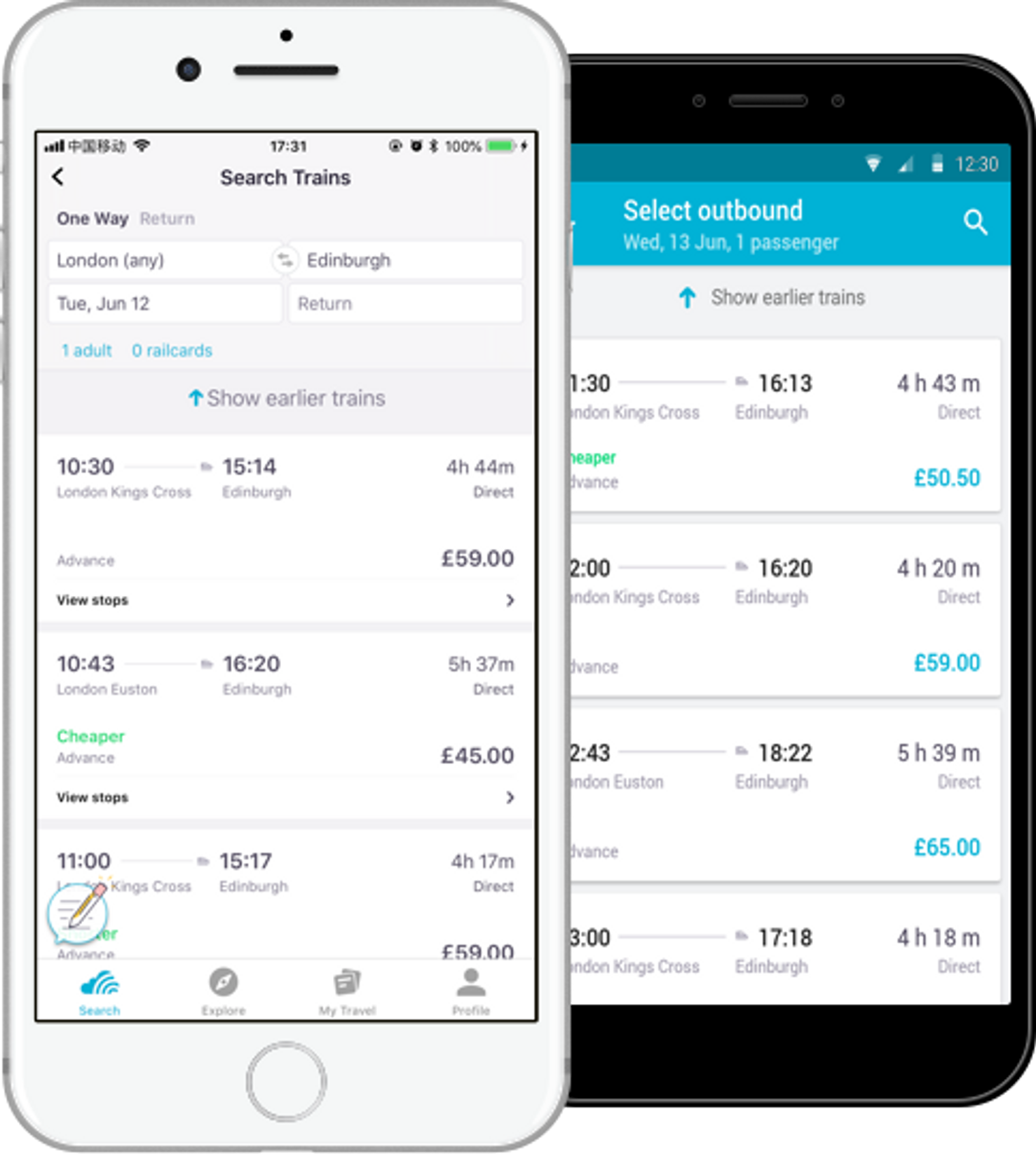 Download Skyscanner App.