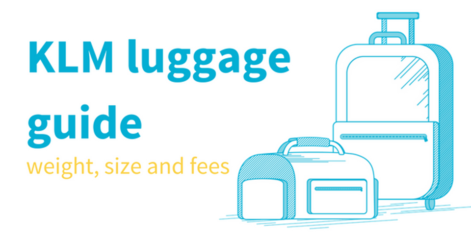 KLM baggage allowance and hand luggage rules