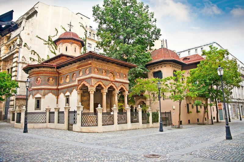 Bucarest cosa vedere: Bucharest chiesa Stavropoleos