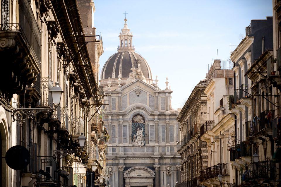 Günstige Flüge nach Catania