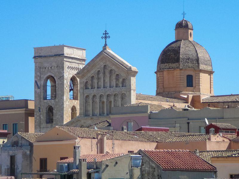 skyline borgo antico Cagliari