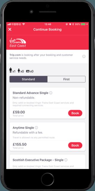 Cheap Train Tickets – No Booking Fees