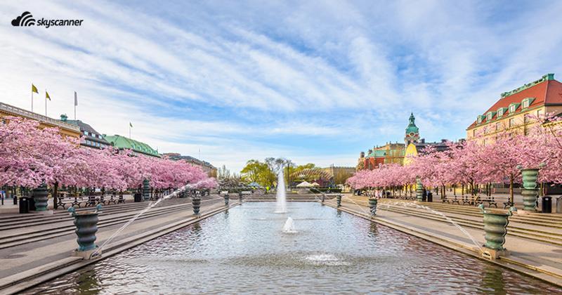 สวนกุงสตราด สต็อกโฮล์ม สวีเดน