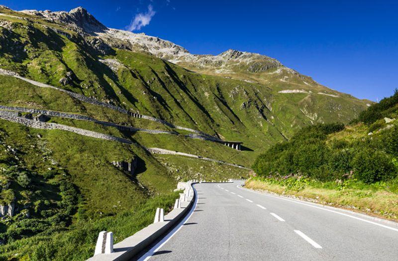 Road trip in Europa: Furka Pass