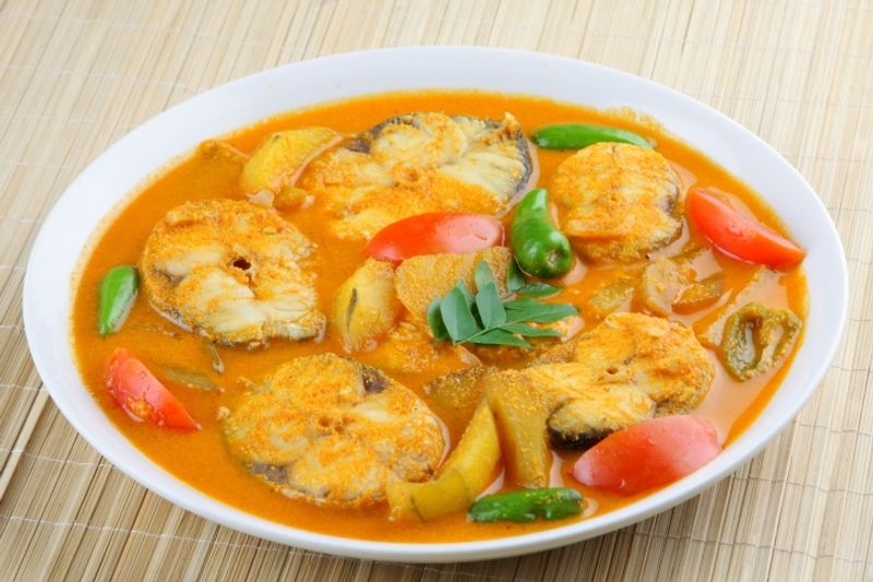 The spicy Sri Lankan fish curry