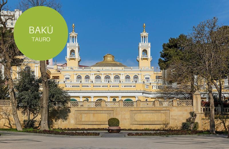 bakú en azerbaiyán